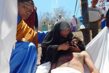 Los Via Crucis en Sinaloa 2015