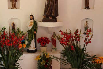 Celebran a santo patrono en Camacho