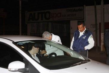 Alcoholímetro buena medida en Mazatlán