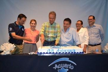 Celebra Acuario 35 años