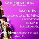 Martes de Apoteósis Carnaval 2016