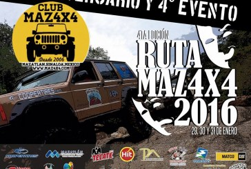 4ta Ruta Maz4X4 Copper Tires 2016