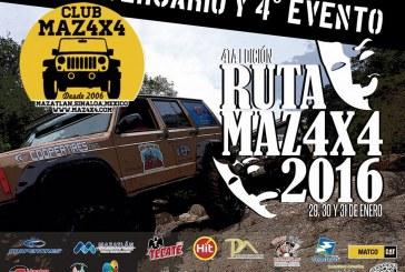 4ta Ruta Maz4X4 Copper Tires 2016