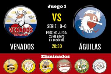 Y nos vamos por el Campeonato 2015-2016 con Los Venados de Mazatlán