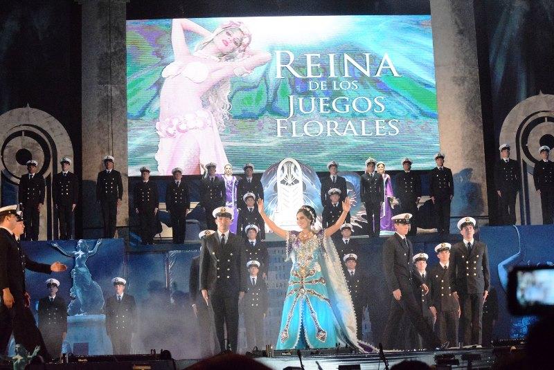 Coronación Blanca Herrera Jeugos Florales 2016