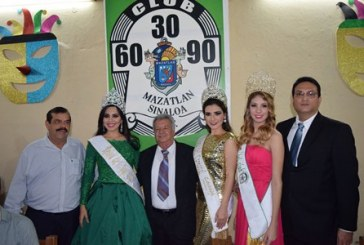 La Corte real visita el Club 30-60-90
