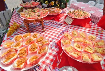 Inauguración Muestra gastronónica / Food fair opening