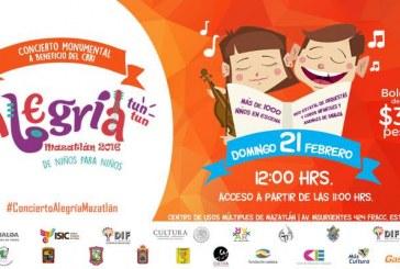 Concierto  Monumental Alegría en Mazatlán