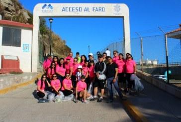 Jornada de limpieza en el faro de Mazatlán