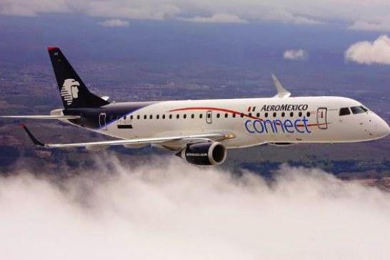 Aeroméxico incrementará 20% los vuelos en Los Mochis y Culiacán