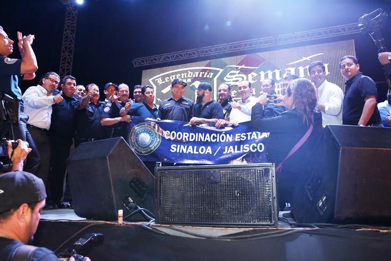 Inauguración de la XXI Edición de la Semana de la Moto Mazatlán 2016