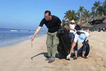 Inicia Sectur Semana Santa con Jornada de Limpieza de Playas