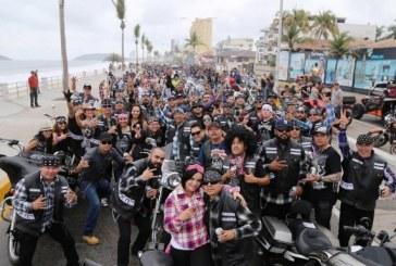 Más de 37 mil turistas se esperan en  Mazatlán durante Semana de la Moto