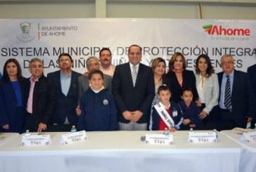 Ahome uno de los 197 ayuntamientos del país que cuenta con un Sistema Integral de Protección a Niños