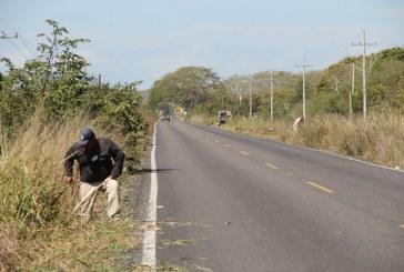 Funcionarios públicos realizan jornada de limpieza en las playas del Caimanero.