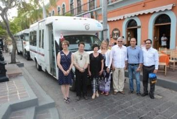 Clubes rotarios donan autobuses a CULTURA