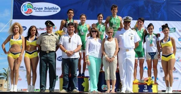 El salón Mazatlán III del Mazatlán International Center (MIC) fue el escenario elegido para la presentación de la XV edición del Gran Triatlón Pacífico Mazatlán 2016. El lanzamiento se dio en el marco de un desayuno-conferencia de prensa.