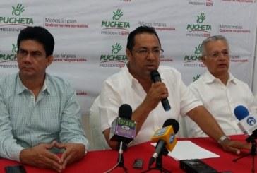 Presenta Pucheta Avances del Proyecto para Seguridad Publica