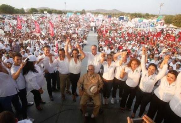 Impresionante Cierre de Campaña de Quirino en Mazatlán