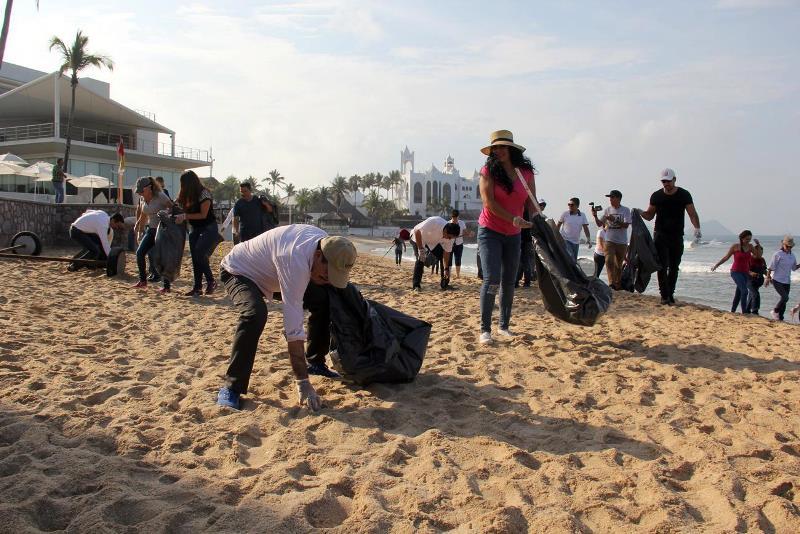 II Segunda Jornada de ,i pieza Playa Gaviotas Mazatlán Sectur SInaloa 2016