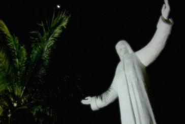 Celebran 11 años de la inauguración del Cristo de La Mesa