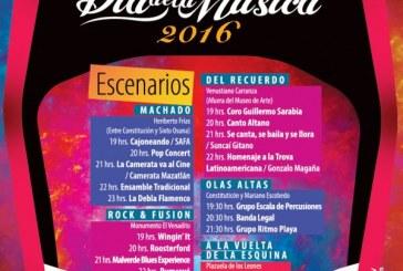 Mazatlán invita a celebrar el Día de la Música