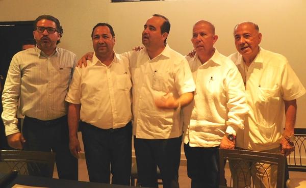 Fecanaco Sinaloa y Canaco Sur Sinaloa se reúnen con alcalde Electo Fernando Pucheta Sánchez