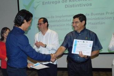 Obtienen 11 hoteles de Mazatlán el  certificado de Hotelería Sustentable