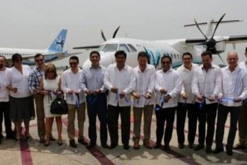 Inaugura Aeromar su Ruta Mundo Maya y Oaxaca