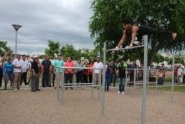 Gobernador y Alcalde inauguran el Parque de la Juventud