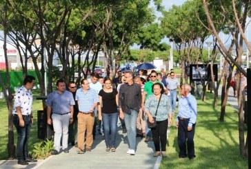 Mazatlán ya cuenta con un parque lineal abierto para la exhibición del arte y la cultura