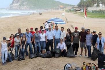 Realiza Sectur la Quinta Jornada   de Limpieza de Playas en Mazatlán