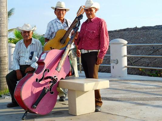 En Mazatlán me inspiro malecón musical