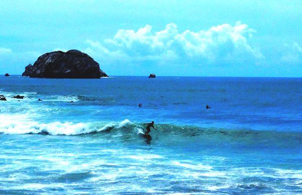 En Mazatlán me inspiro surf