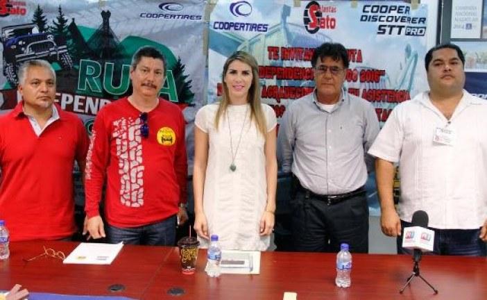 <center>Invitan a participar en Segunda Edición ruta extrema 4×4 Independencia Sinaloa-Durango</center>