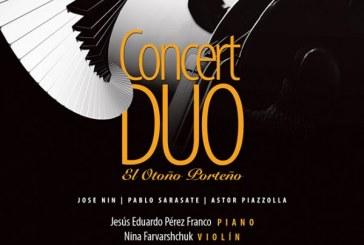 Concert Duo este Viernes