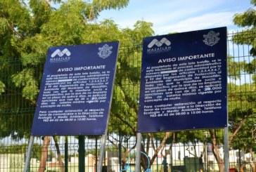 Campaña de señaletica para una ciudad limpia