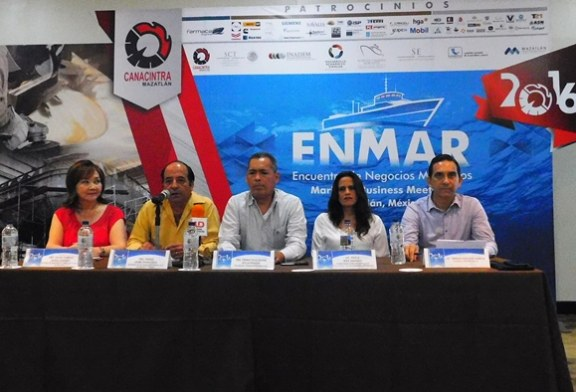 Todo listo para Enmar Mazatlán 2016