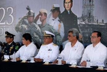 conmemoran el Día de la Armada de México