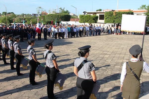 106 Aniversario Revolución Mexicana El Rosario 2016