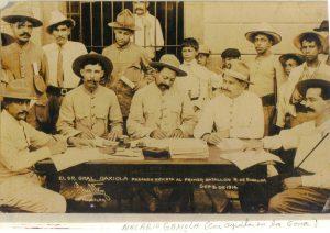 Sinaloa en la época de la Revolución durante y después