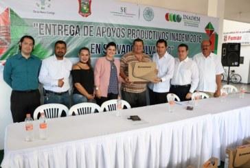 Benefician a 120 empresas de Salvador Alvarado