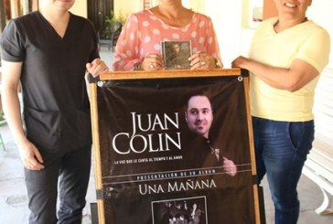 Presentará Juan Colín su Primera Producción Discográfica