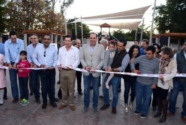 Estrena Los Mochis parque con valor de 4.5 mdp