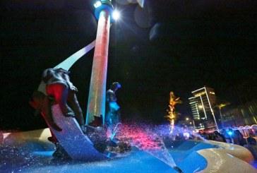 <center>El monumento de Los Monos Bichis (Pescador) luce genial</center>