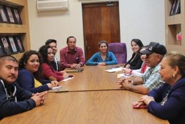 María León Rubio se reunió con el departamento de turismo