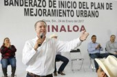 Inicia Choix plan de mejoramiento urbano