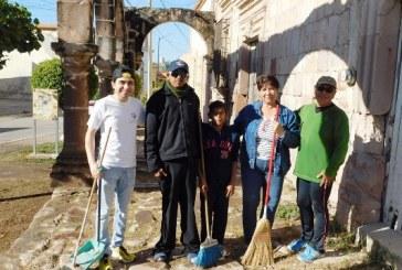 <center>Los Arcos Virreinales del El Rosario Pueblo Mágico lucen limpios</center>