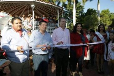 Inauguran obra urbana En San Miguel Zapotitlan, Ahome