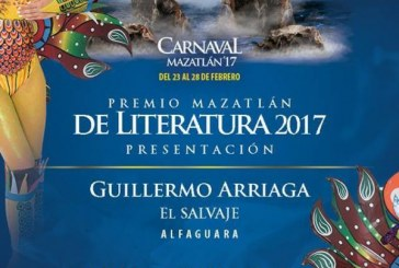 Premio Mazatlán de Literatura 2017